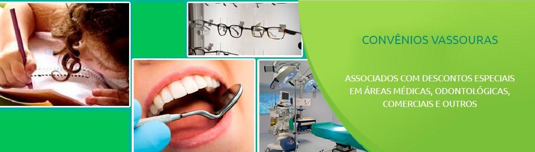 Associados com descontos especiais em áreas médicas, odontológicas, comerciais e outros